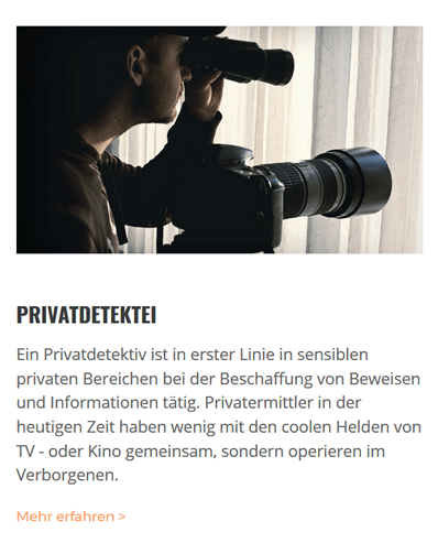 Privatdetektei für 70839 Gerlingen