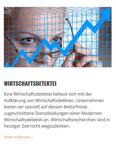 Wirtschaftsdetektei für 72585 Riederich